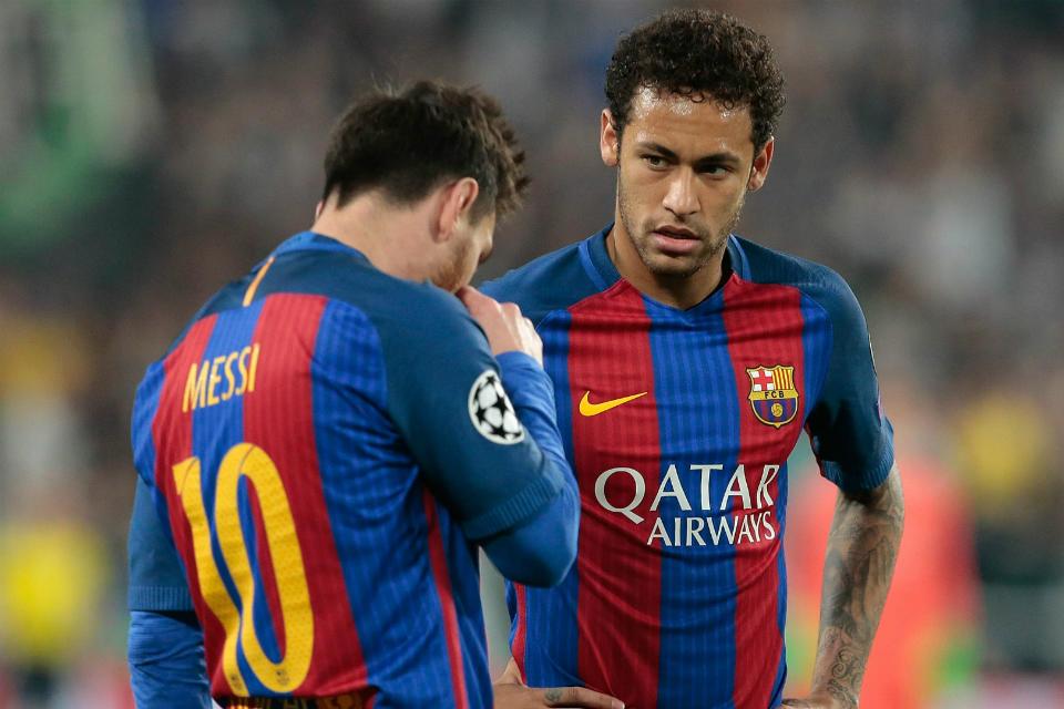 Neymar berharap bisa lepas dari bayang-bayang Lionel Messi