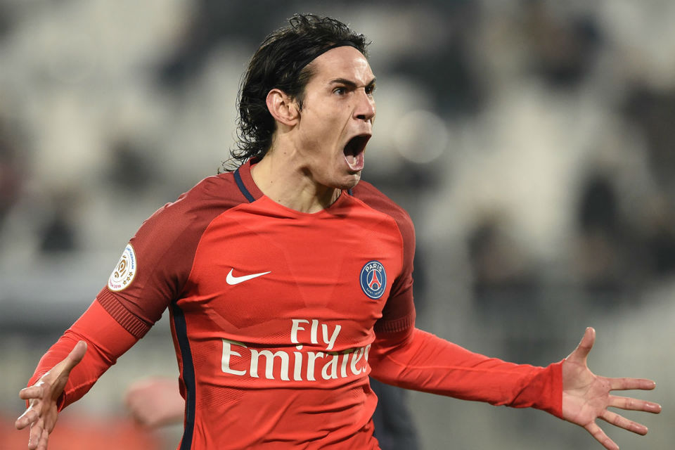 Determinasi Cavani untuk Paris Saint-Germain