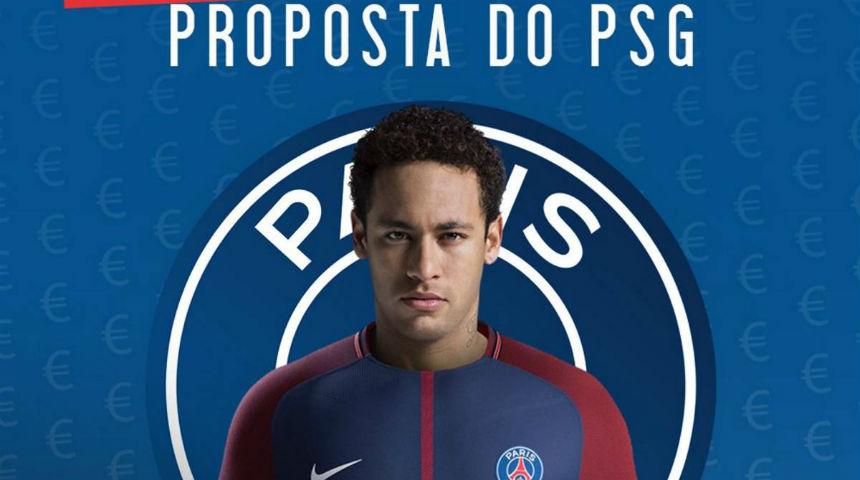 Nilai transfer Neymar pecahkan rekor
