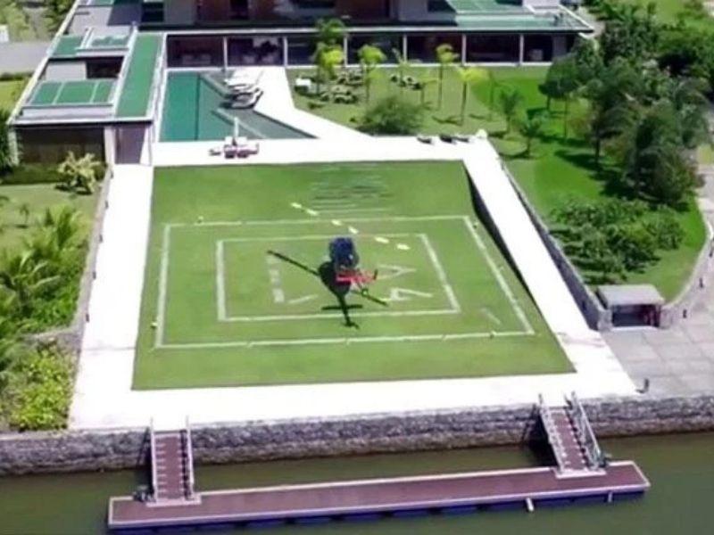 Rumah Neymar yang Mewah dan Berkelas Layaknya Selebriti